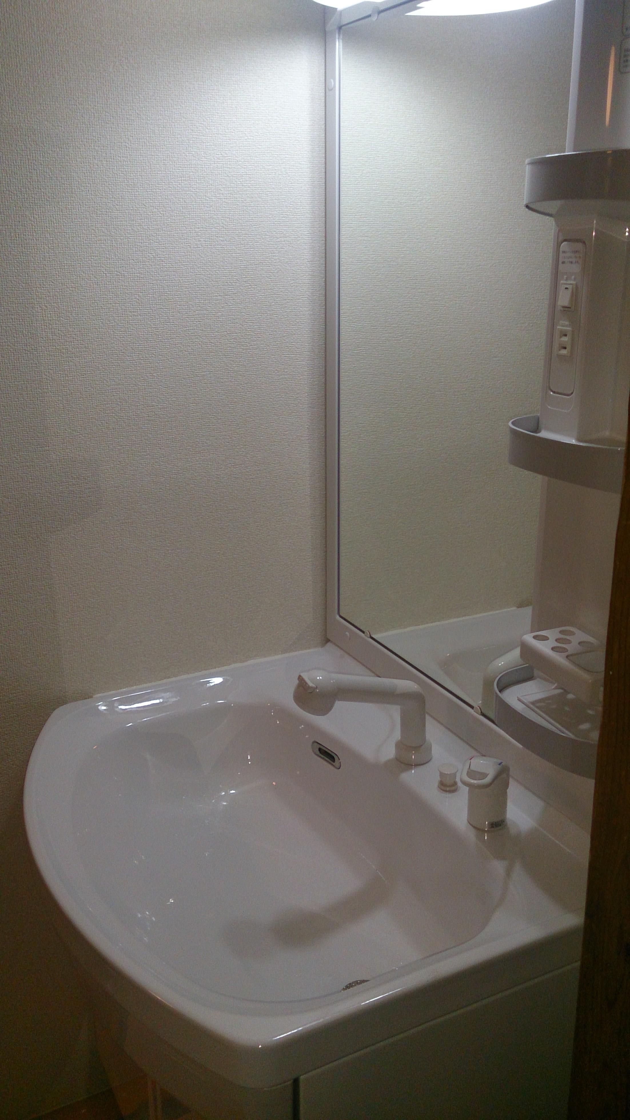 タカラスタンダード洗面化粧台 オンディーヌ