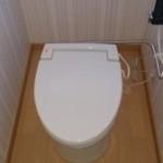 筑西市 公民館 簡易水洗トイレでのトイレリフォーム