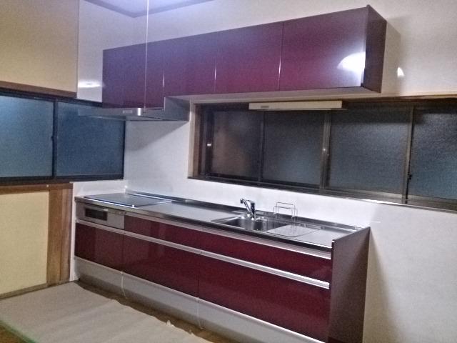 クリナップ製システムキッチン「クリンレディ」