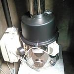 筑西市 T様 長府CHOFU風呂釜JPK-N6+排気筒交換