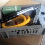 水圧テストポンプ買い換えました。